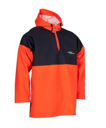 Elka Fishing Xtreme Two Tone Smock 177102 Orange and Navy Blue