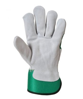 PPG Workwear Portwest Premium Chrome Rigger Glove A220 Green Colour Palm View