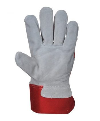 PPG Workwear Portwest Premium Chrome Rigger Glove A220 Red Colour Palm View