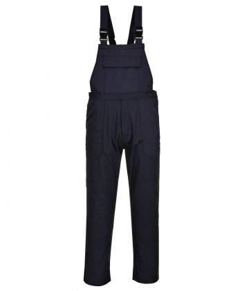 PPG Workwear Portwest Bizweld Flame Retardant Bib/Brace BIZ4 Navy Blue Colour