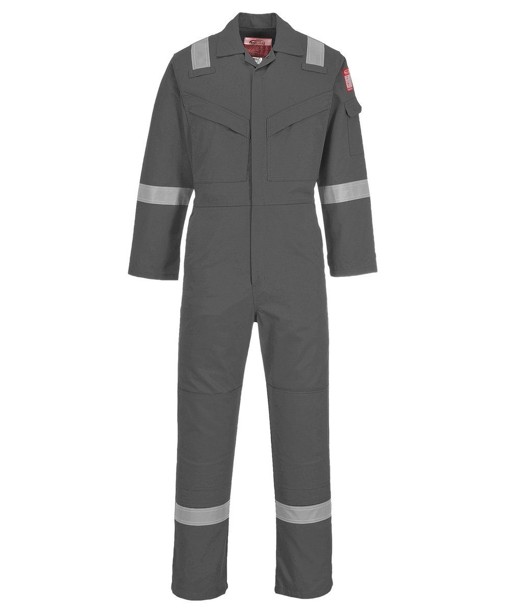 e7672d5dc78f PPG Workwear Portwest FR Anti-Static Super Lightweight Coverall FR21 Grey  Colour