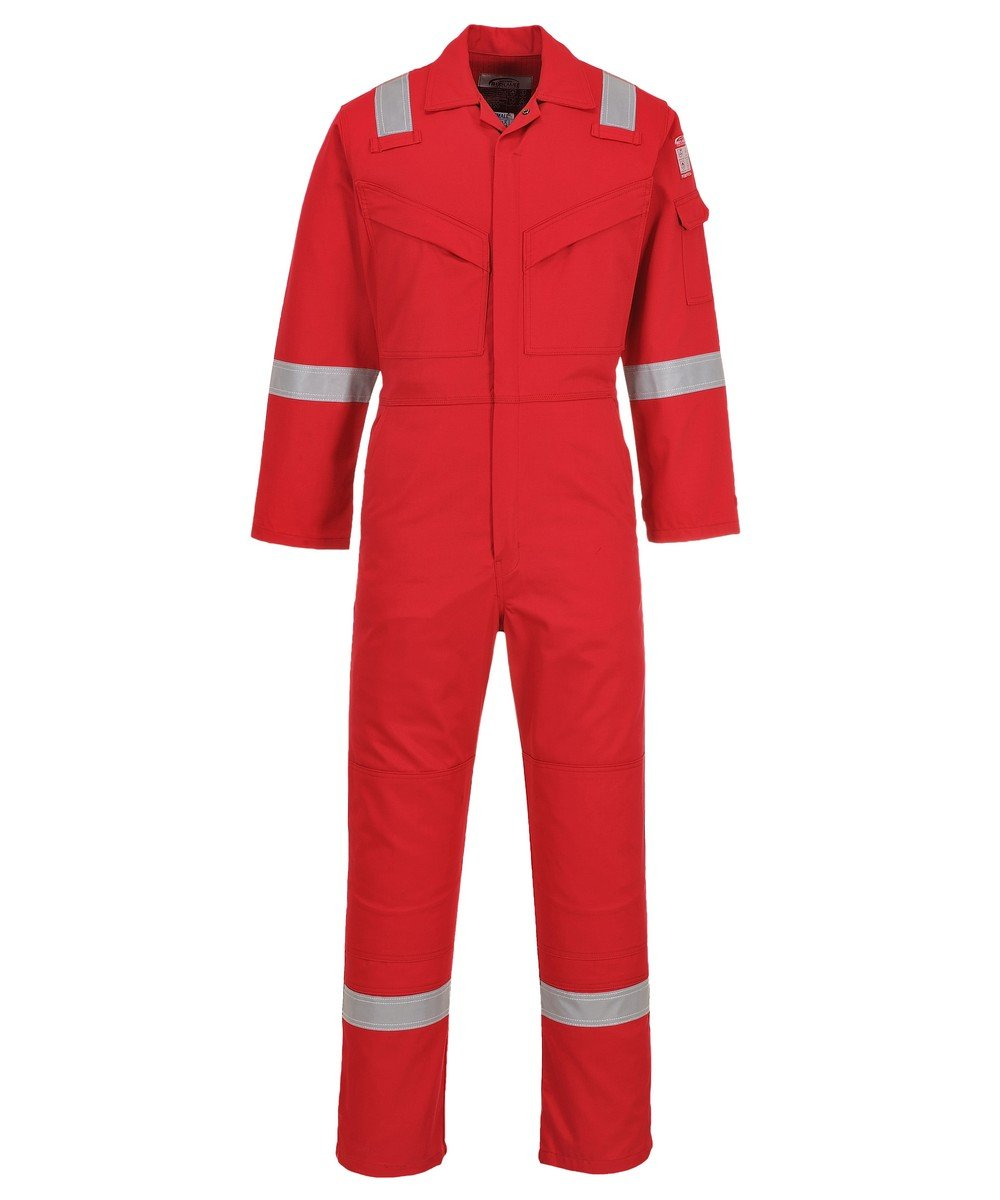 52b118396234 PPG Workwear Portwest Flame Retardant Anti-Static Coverall FR50 Red Colour