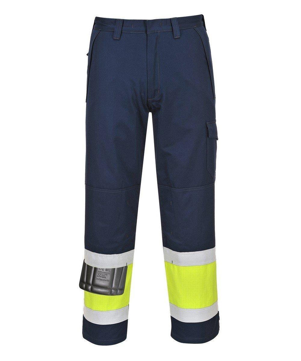 93709c8c65ab PPG Workwear Portwest Hi-Vis Modaflame FR Anti-Static Trouser MV26 Navy  Blue and