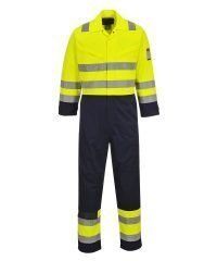 37bfcba0783a £72.00 Select options · PPG Workwear Portwest Hi-Vis Modaflame FR Anti-Static  Coverall MV28 Yellow and Navy
